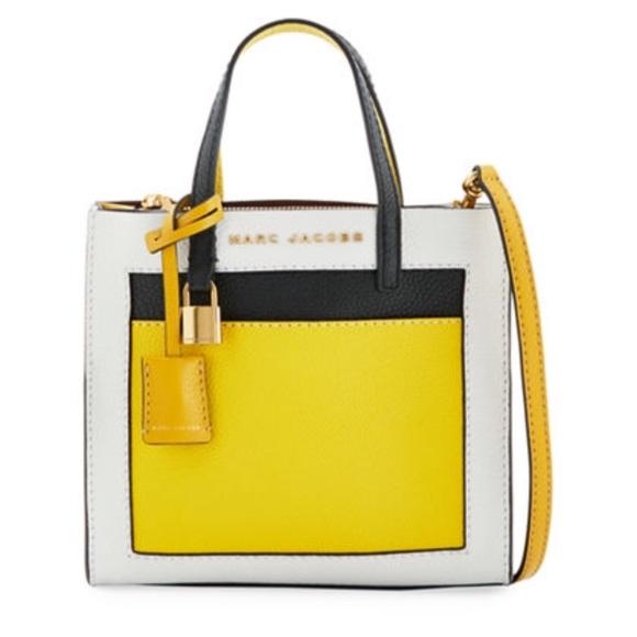 Marc Jacobs Bags   The Grind Colorblocked Bag   Poshmark 7dea63e3d906